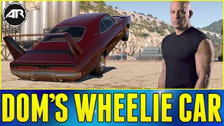 Forza Horizon 2 : FAST AND FURIOUS WHEELIE CAR!!! (Dom