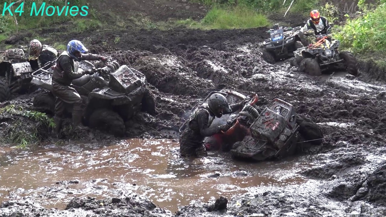 ATV Off-Road mud, water race | Klaperjaht 2017