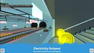 Neue Karte in Roblox Deathrun - Electricity Outpost