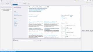 كيفية إنشاء الخاصة بك أولا C++ المشروع في Visual Studio 2015