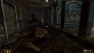 Painkiller Walkthrough Atrium Complex Chapter 1 Level 2 Gold Black Edition Gameplay PC Part 3