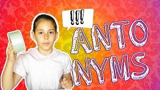 Lesson 2 : ANTONYMS  Играем в АНТОНИМЫ на Английском
