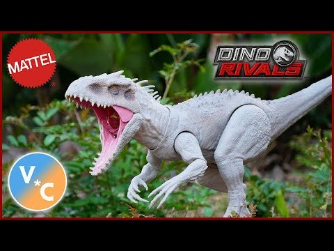 Jurassic World Dino Rivals Destroy 'N Devour Indominus Rex Review