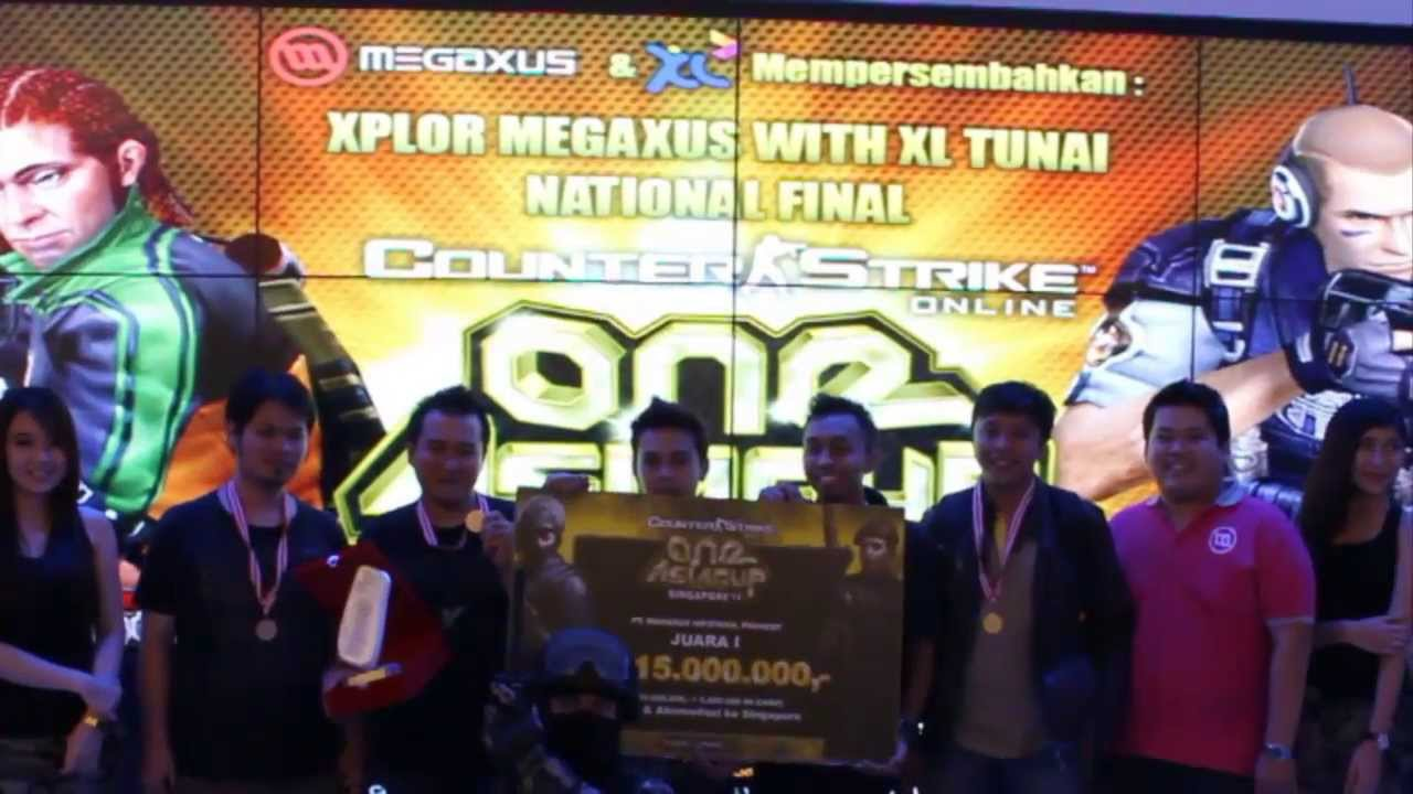[OFBStranger] One Asia Cup Counter Strike Megaxus 2013 Indonesia Champion Team