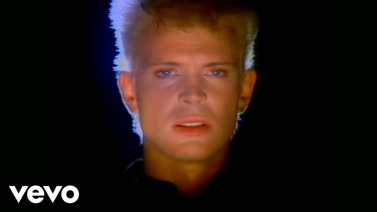Billy Idol   Eyes Without A Face   YouTube