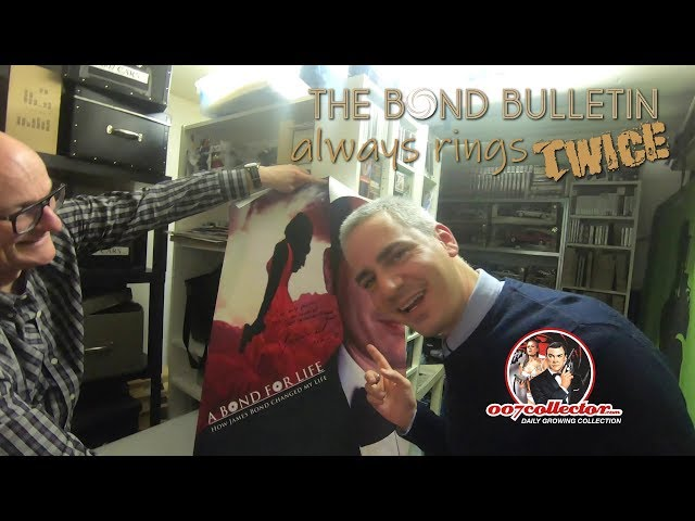The Bond Bulletin always rings twice:  007 Collector Michael Hackl