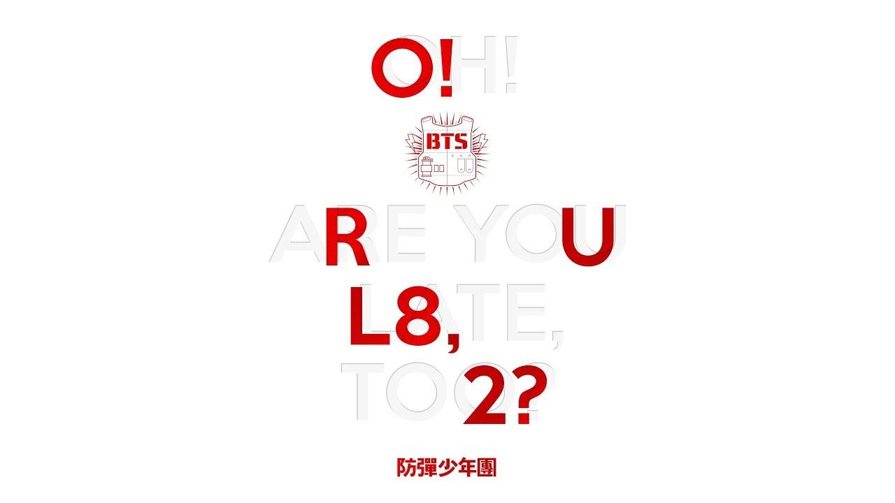 BTS - O!RUL8,2? (descarga/download)