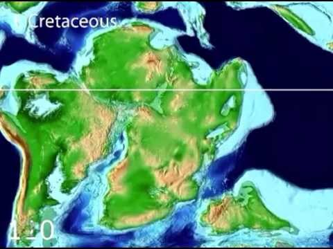 Tectonic Evolution of Africa - Scotese Animation