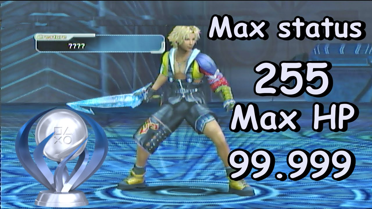 Final Fantasy X 2 Hd Remaster How To Get Max Hp 99999 Status 255