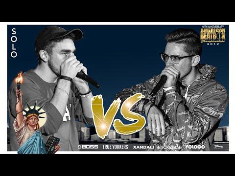 Bizkit Vs Balistix | Solo Top 8 Battle | ABCX | American Beatbox Championships 2019