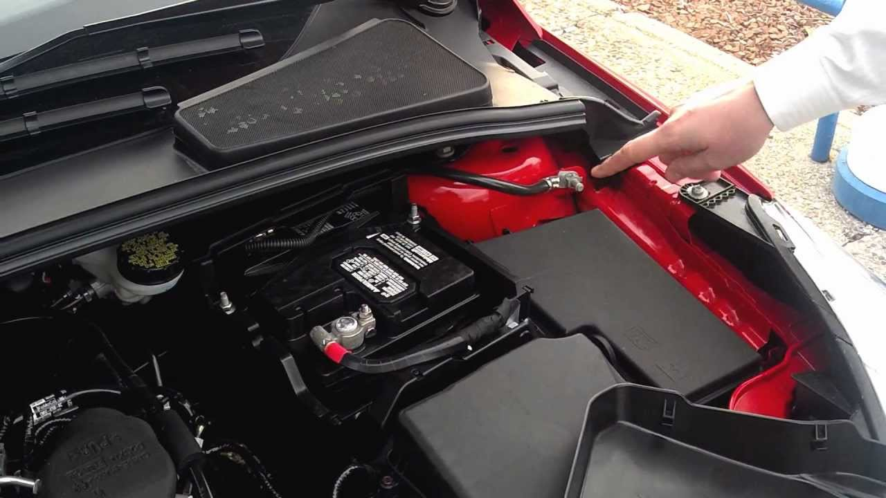 2014 Ford Escape Battery Removal Images Of Home Design Focus Fuse Box 2013 And Jump Starting