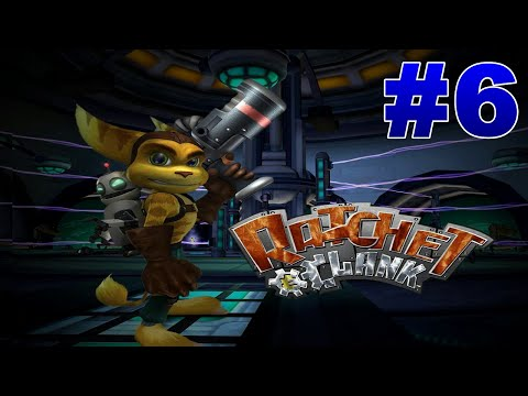 Ratchet And Clank Walkthrough (HD Collection) Part 6 Planet Rilgar