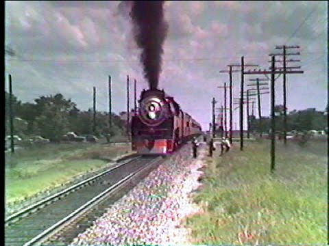 Southern Pacific Daylight 4449 Navasota to Dallas, Texas Pt 3 Return From the Fair!
