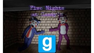 Garry's Mod | Five Nights at Candy's Map