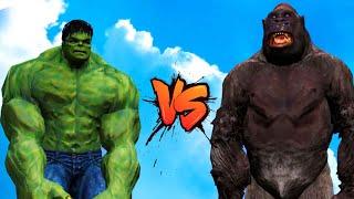 GTA 5 Hulk VS Kingkong Funny Moment - Battle | Grand Theft Auto V