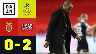 Thierry Henry und Co. verlieren gegen Letzten: Monaco - Guingamp 0:2 | Ligue 1 | DAZN Highlights
