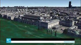 """إخلاء مئات التحف الفنية من """"متحف اللوفر"""" في باريس"""