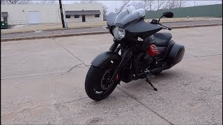 First ride of the Moto Guzzi Flying Fortress MGX-21