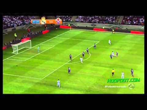 Real Madrid vs Fiorentina 1-2 resumen