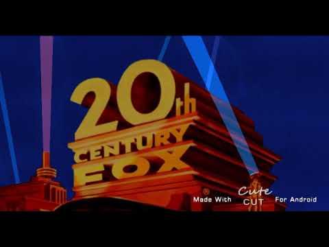 20th Century Fox 1981-1994 Pink Searchlight Logo Remake
