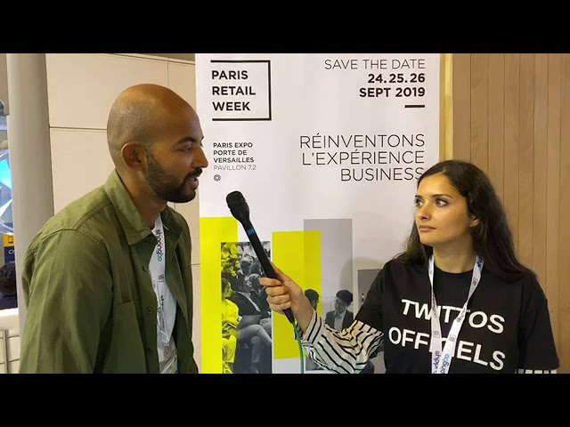 Intervention à la #ParisRetailWeek2019 - Porte de Versailles, Paris