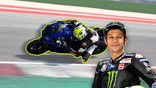 ON THE TRACK WITH ROSSI AND WORLD CHAMPIONSHIP RIDERS