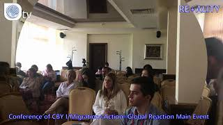 RE+ALITY | Conference of CBY I/Migration+Action=Global Reaction Main Event