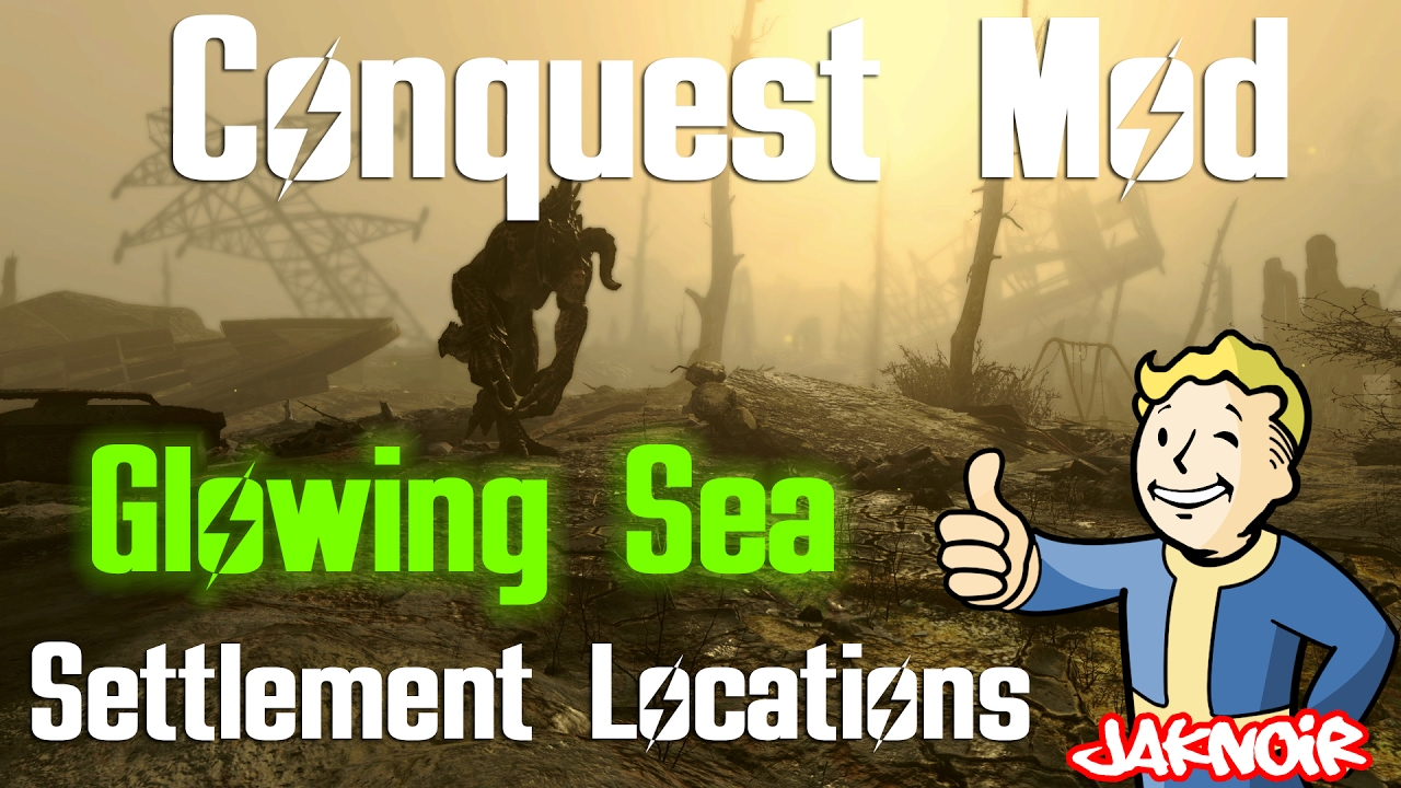 Fallout 4 Conquest Settlement Locations: Glowing Sea