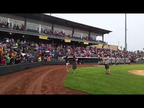 "<span class=""title"">Jasmine Cain Kansas City Tbones Baseball National Anthem</span>"