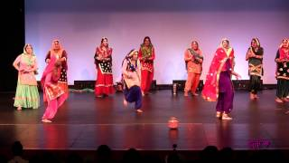 Bay Area Dhamak @ Tor Punjaban Di Giddha Competition 2012