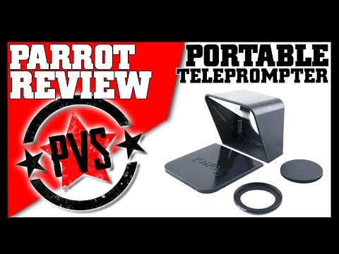 How to Use the Parrot Teleprompter App