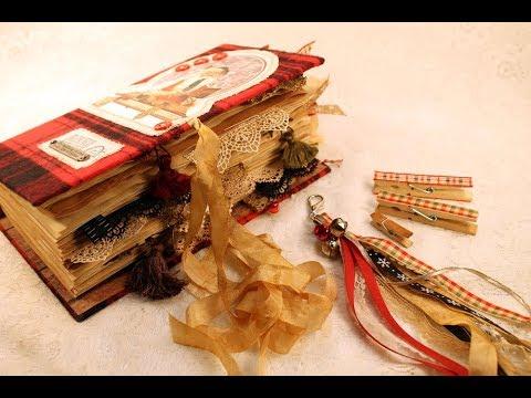 Classic Santa - a keepsake holiday junk journal