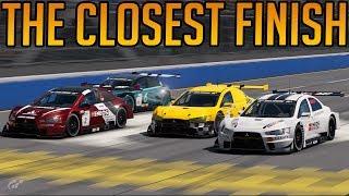 Gran Turismo Sport: The Closest Finish Ever!