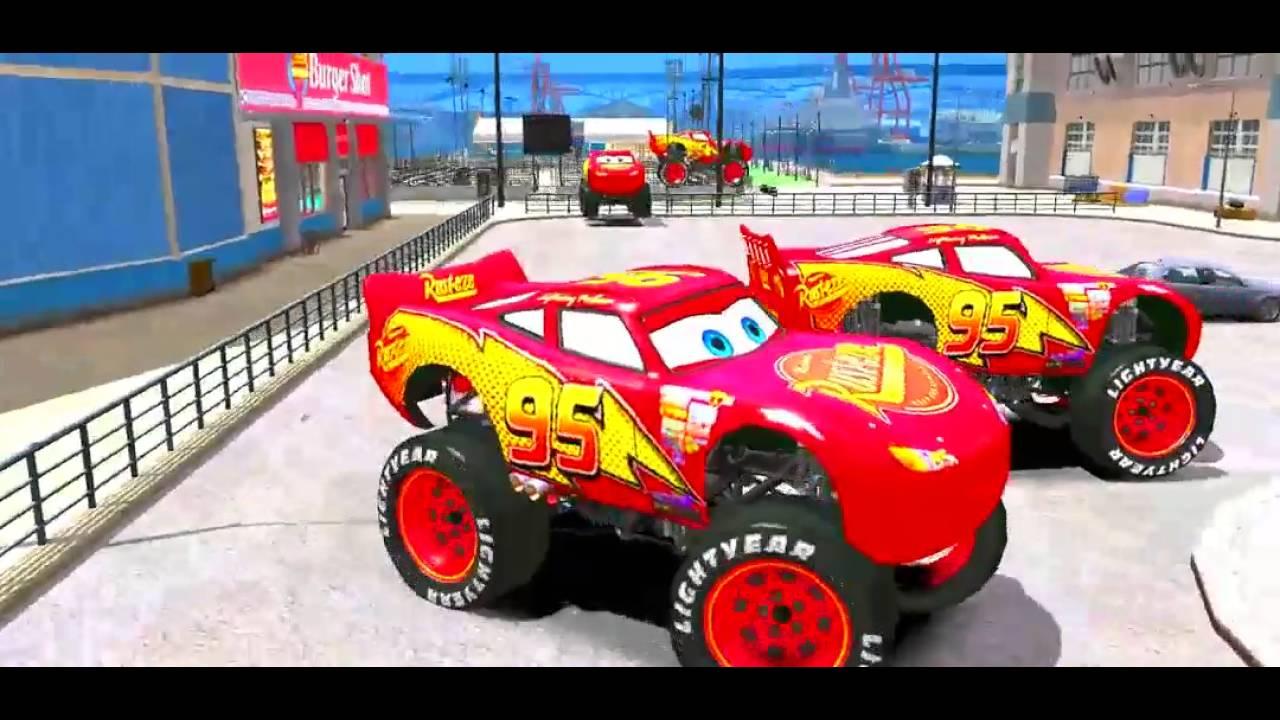 Disney Cars Toys Youtube: Disney Pixar Cars Toys 2017 Disney Cars Lightning McQueen