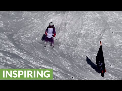 Talented 6-year-old enjoys fun and sun on the slopes