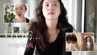 Vlog 파마했어요…+ 짧은 서울 데이트 (결혼준비 탈…