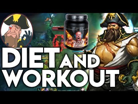 Tobias Fate - DIET AND WORKOUT FITBAIS FATE! W/ Tyler1 BLOODRUSH! | League of Legends