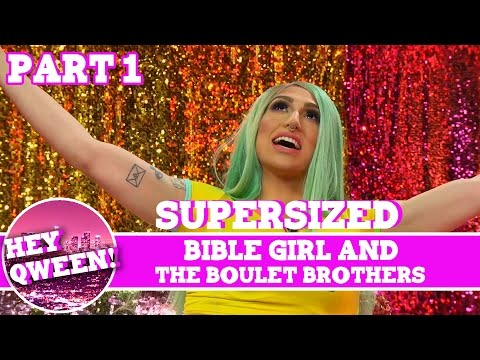 BibleGirl on Hey Qween! with Jonny McGovern SUPERSIZED Part 1