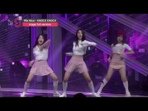 [MIXNINE(믹스나인)] Mix Nice _ KNOCK KNOCK(Twice(트와이스)) (Stage Full Ver.)