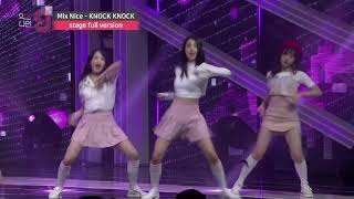 [MIXNINE(믹스나인)] Mix Nice _ KNOCK KNOCK(Twice(트와이스)) (Stage Full Ver.)