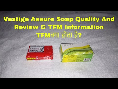 Vestige Assure Soap Quality And Review & TFM Information/TFMक्या होता है?