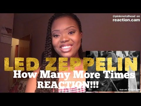 Led Zeppelin- How Many More Times REACTION!!!