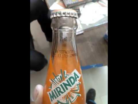 Mirinda ki botal me kida on april 2017