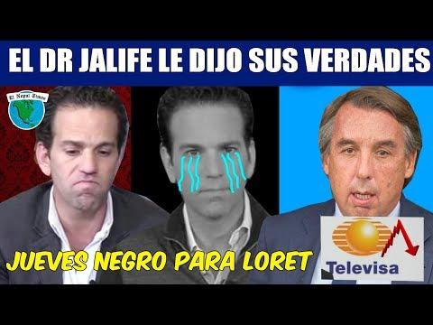MEGA VERGÜENZA de Loret de Mola, TELEVISA lo corre ante su Crisis de Rating y Credibilidad