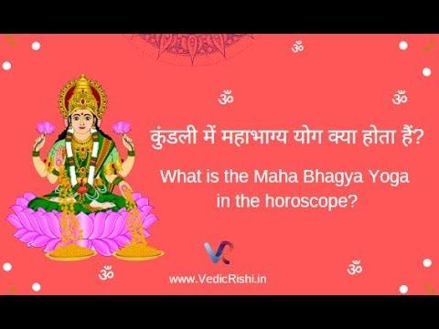 Mahabhagya Yoga Vedic Astrology
