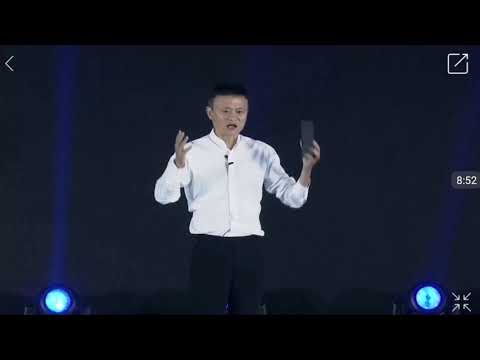 WuXi International Internet Of Things Exhibition Talk of JackMa