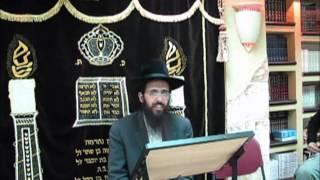 הרב יעקב בן חנן הרצאה בשדרות ייהרג ואל יעבור