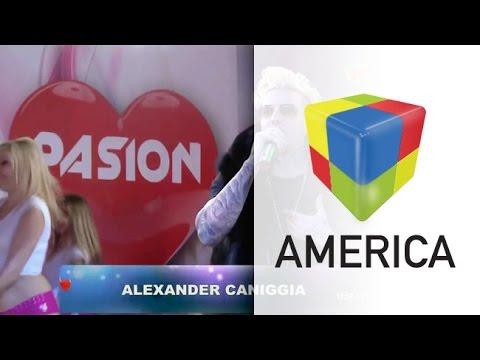 El show de Alexander Caniggia en Pasión: de la limusina a la presentación de su nuevo tema