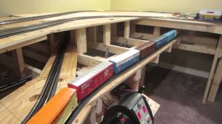zackary s awesome mth train layout