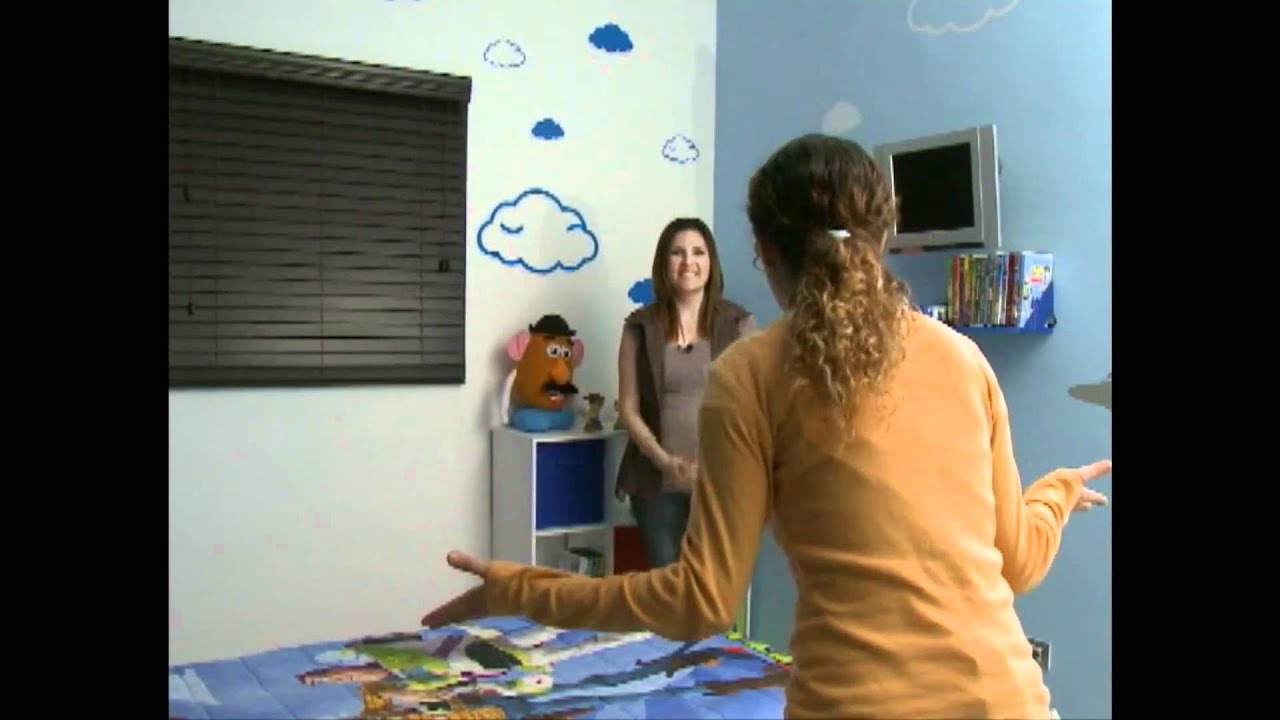 Decoracion recamara ni o parte 2 youtube for Recamara infantil nino